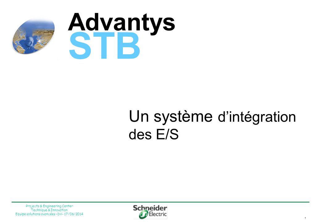 Advantys STB Un système d'intégration des E/S