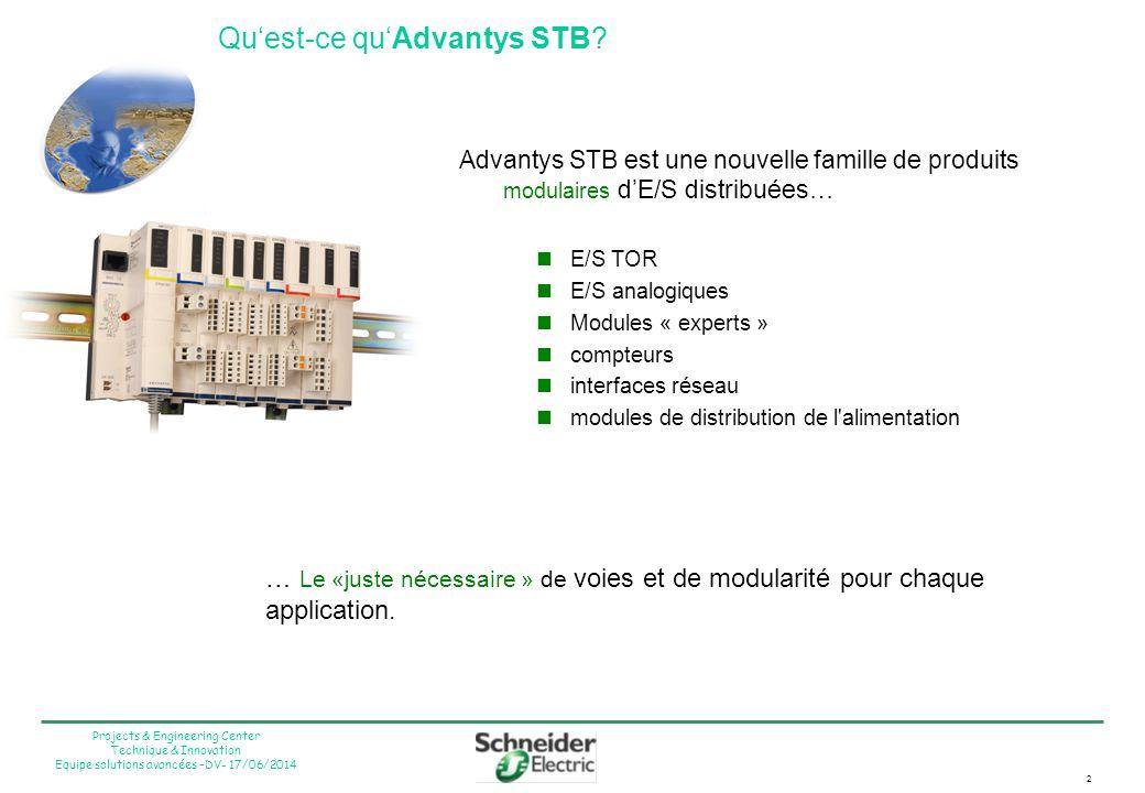 Qu'est-ce qu'Advantys STB