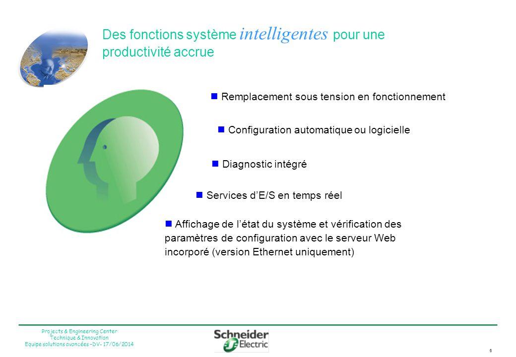 Des fonctions système intelligentes pour une productivité accrue