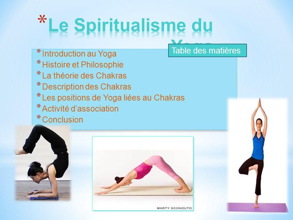 Le Spiritualisme du Yoga