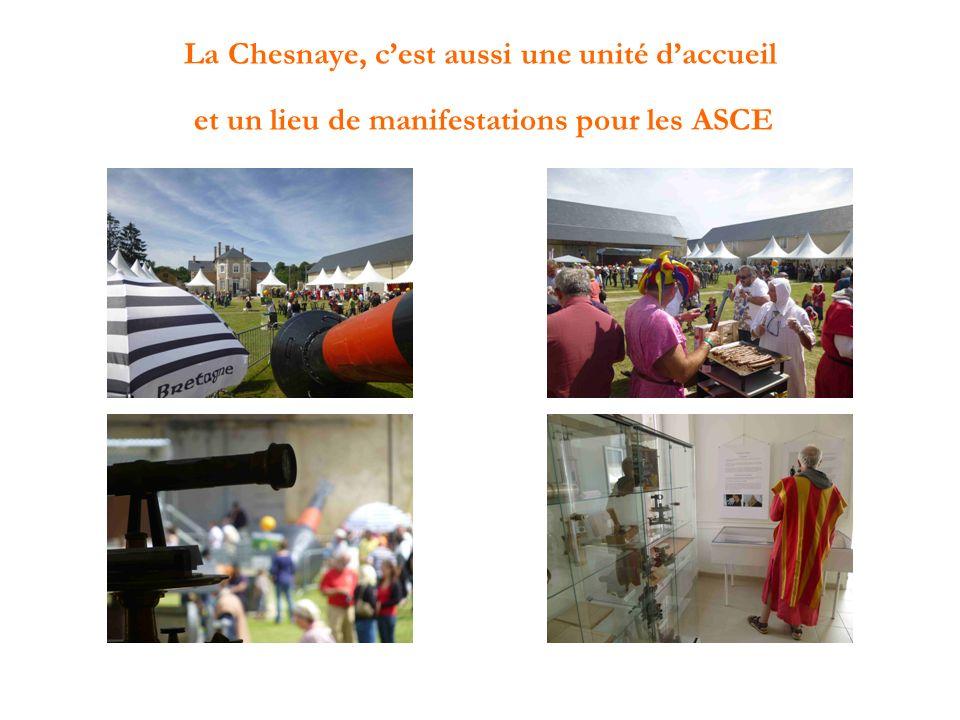 La Chesnaye, c'est aussi une unité d'accueil et un lieu de manifestations pour les ASCE