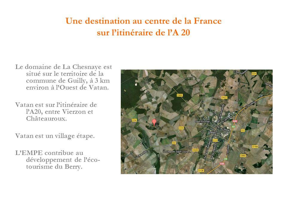 Une destination au centre de la France sur l'itinéraire de l'A 20
