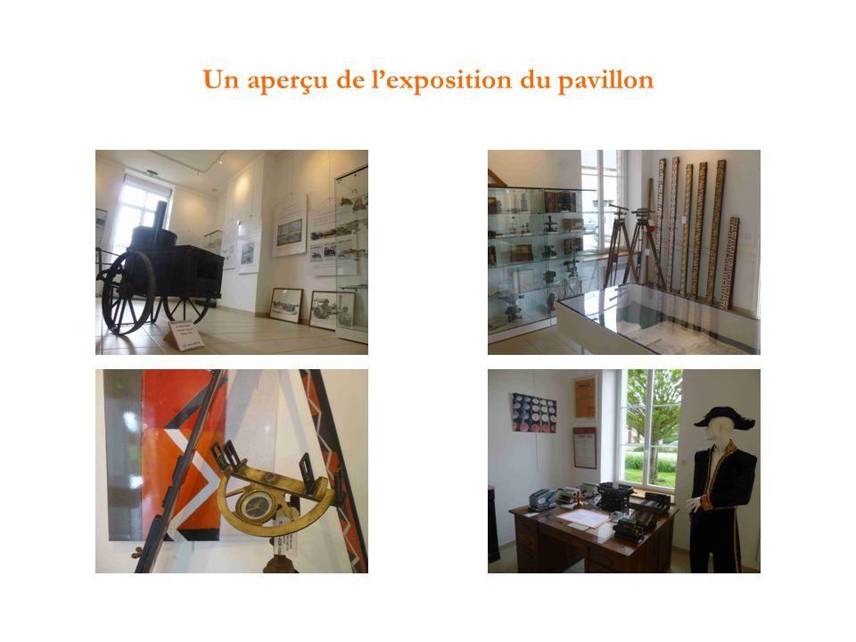Un aperçu de l'exposition du pavillon