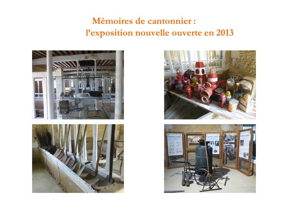 Mémoires de cantonnier : l'exposition nouvelle ouverte en 2013