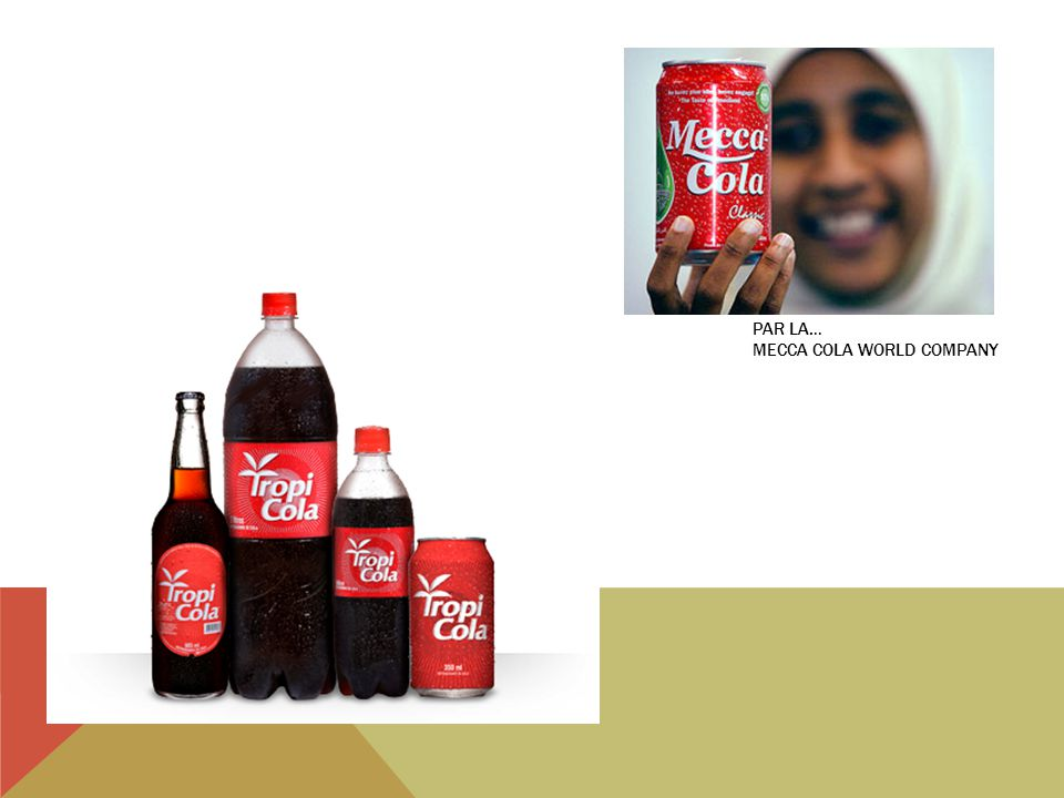 Par la… Mecca cola world company