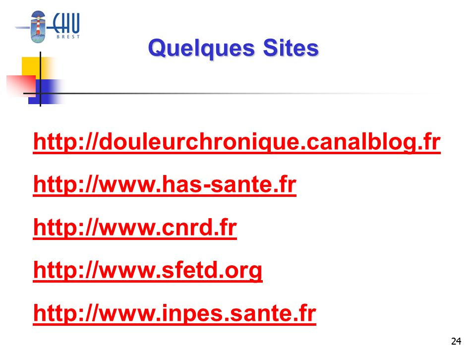 Quelques Sites http://douleurchronique.canalblog.fr