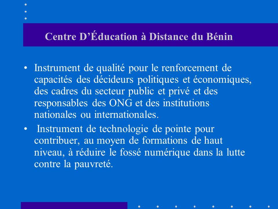 Centre D'Éducation à Distance du Bénin