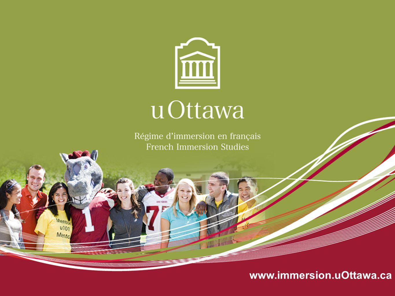 www.immersion.uOttawa.ca On se présente