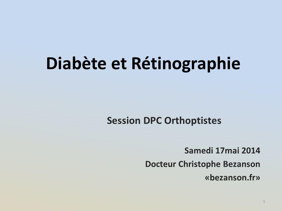 Diabète et Rétinographie
