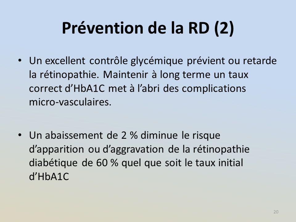 Prévention de la RD (2)