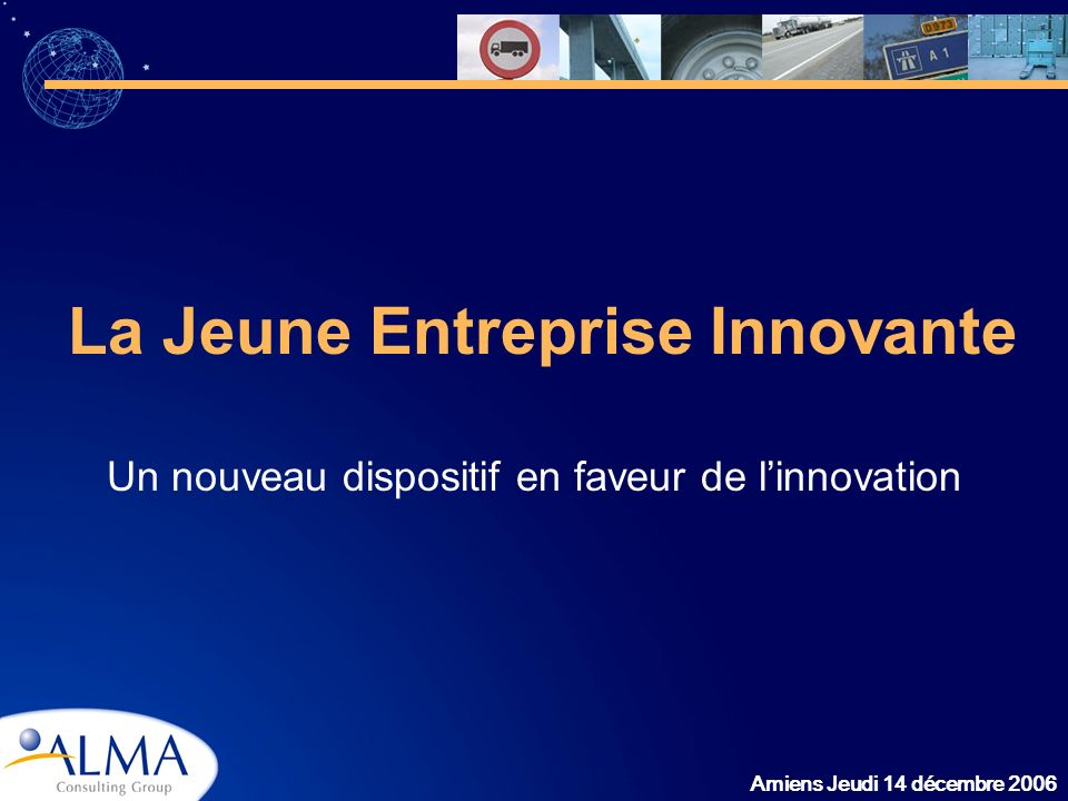 La Jeune Entreprise Innovante