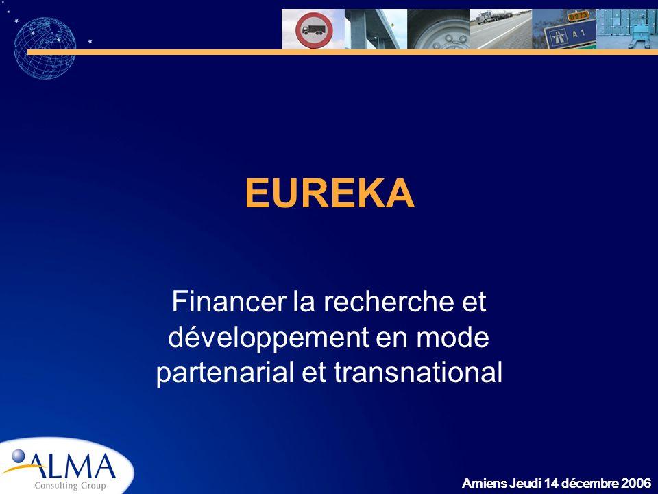 EUREKA Financer la recherche et développement en mode partenarial et transnational