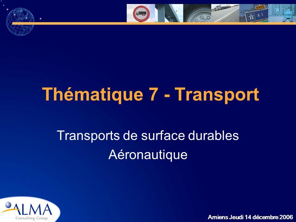 Thématique 7 - Transport