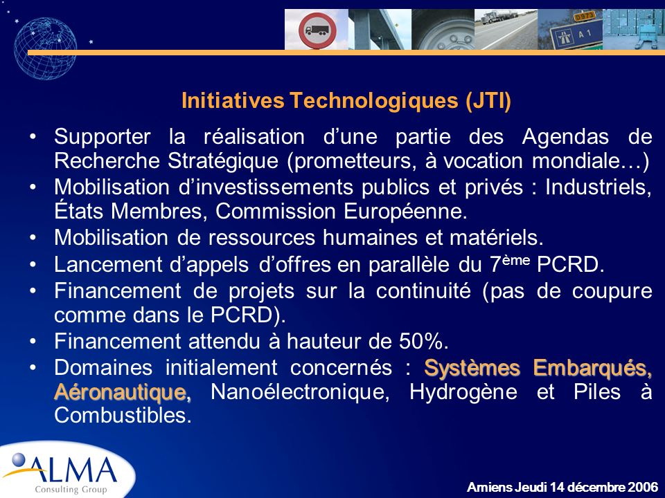 Initiatives Technologiques (JTI)