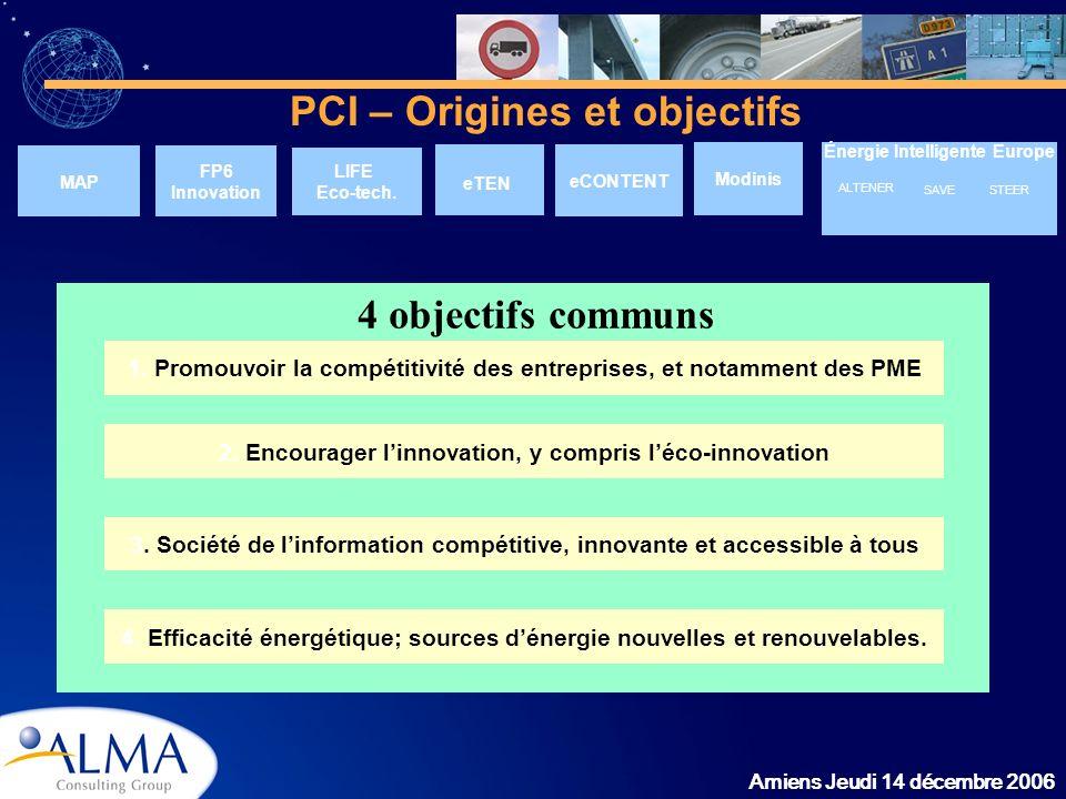 PCI – Origines et objectifs