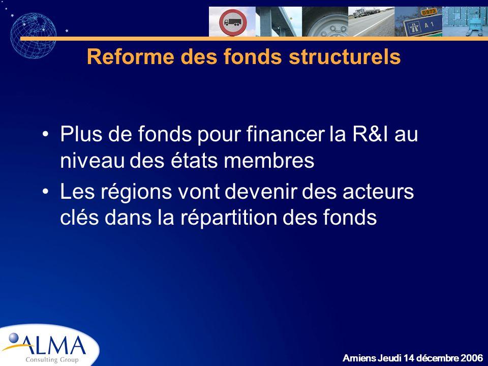 Reforme des fonds structurels