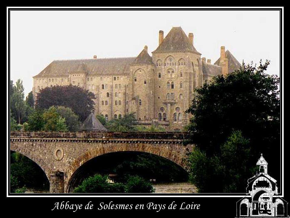Abbaye de Solesmes en Pays de Loire