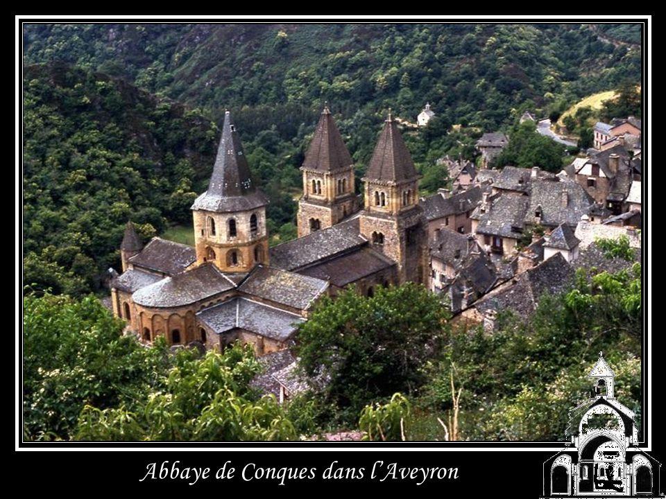 Abbaye de Conques dans l'Aveyron