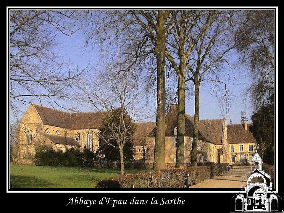Abbaye d'Epau dans la Sarthe