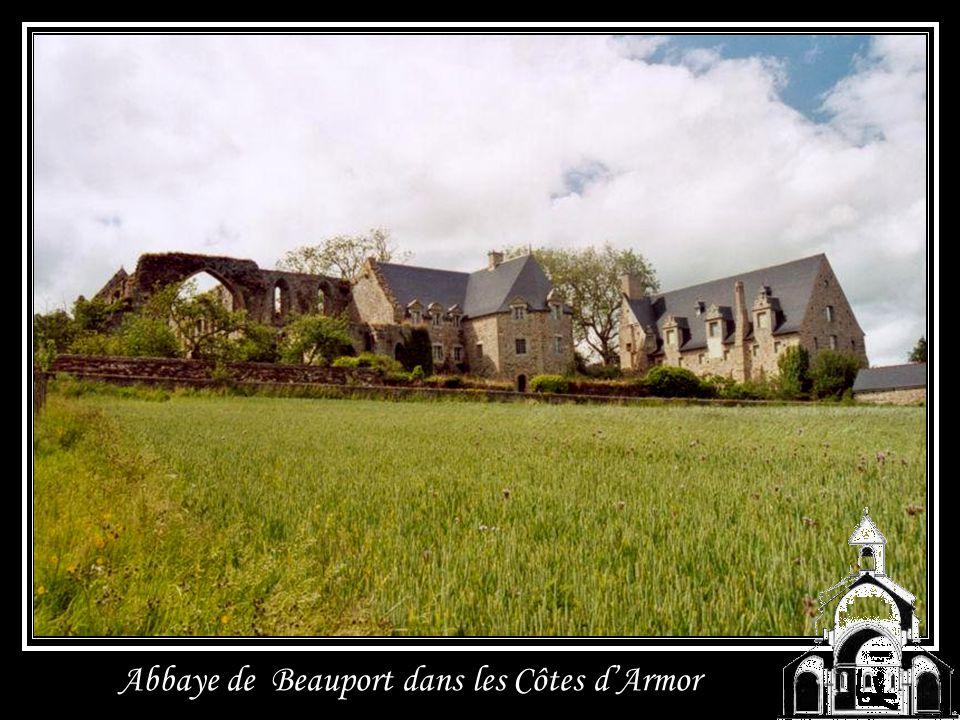 Abbaye de Beauport dans les Côtes d'Armor