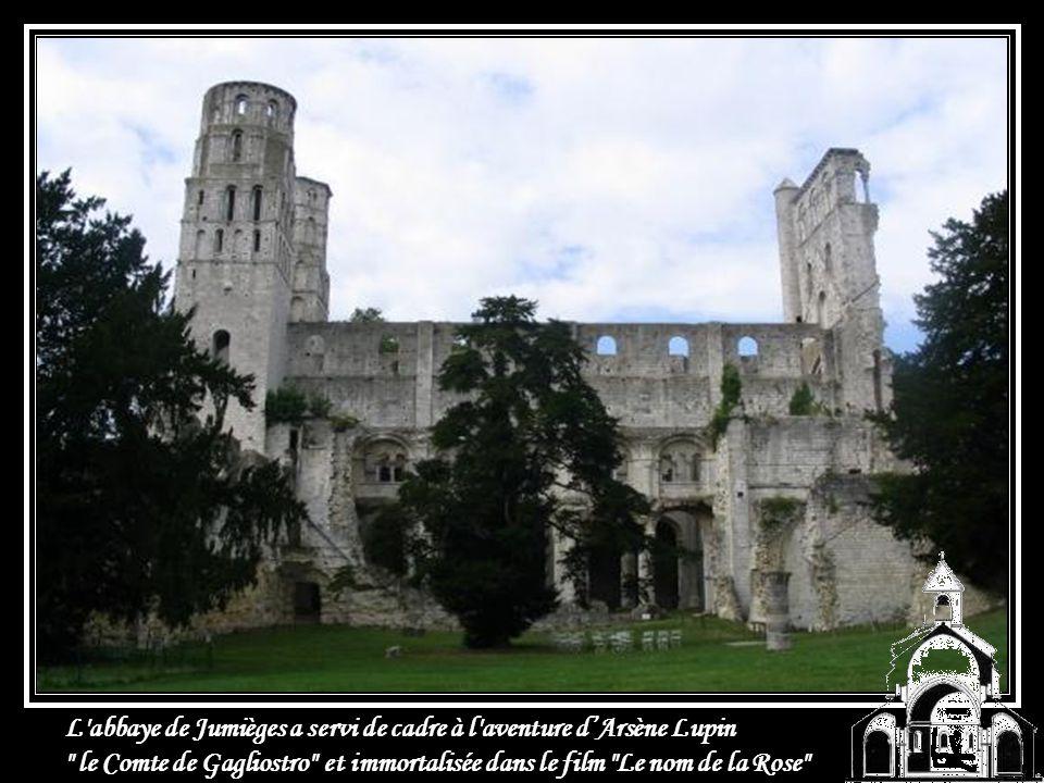 L abbaye de Jumièges a servi de cadre à l aventure d'Arsène Lupin