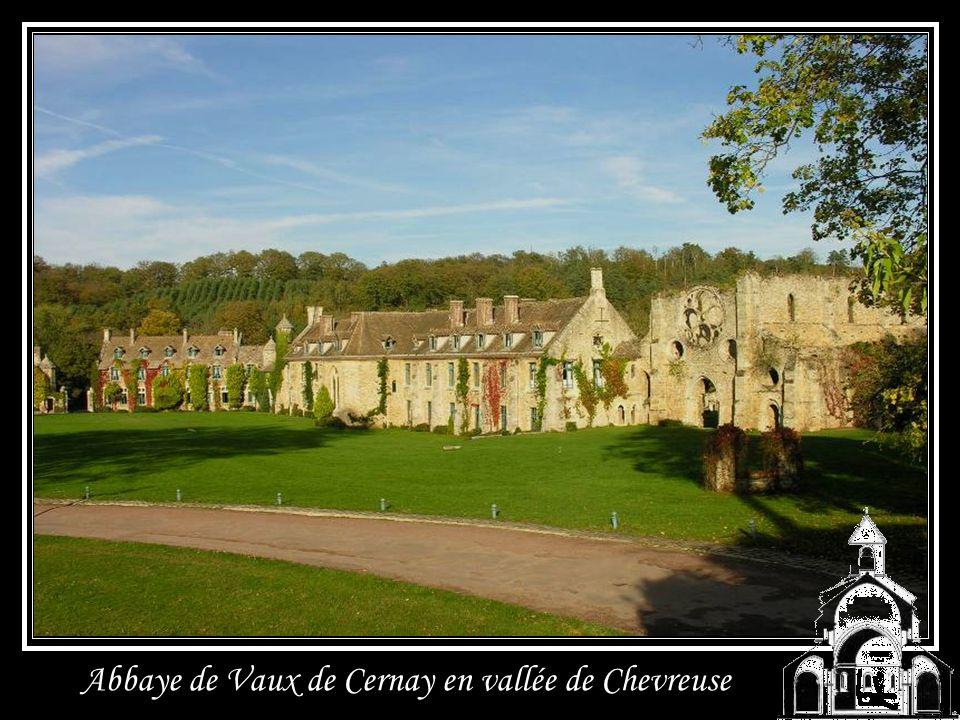 Abbaye de Vaux de Cernay en vallée de Chevreuse