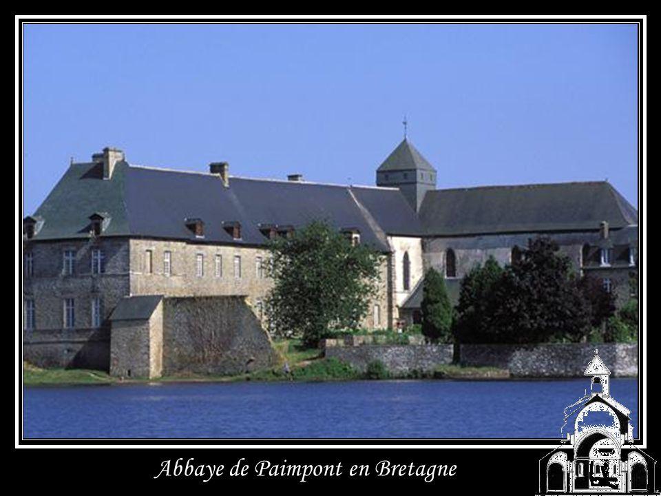Abbaye de Paimpont en Bretagne