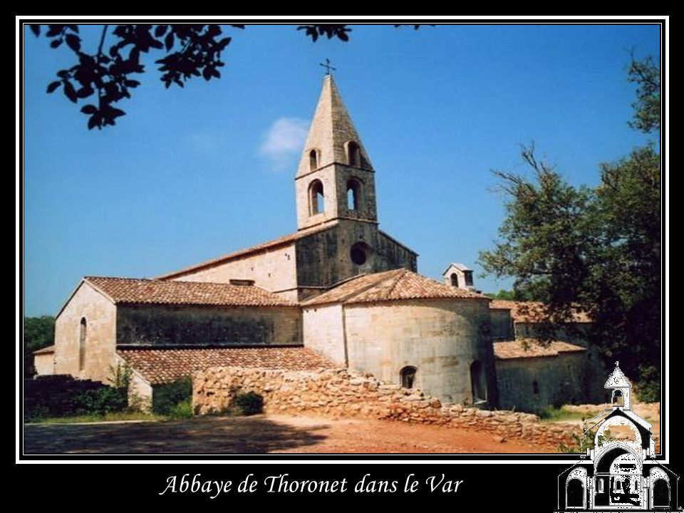 Abbaye de Thoronet dans le Var