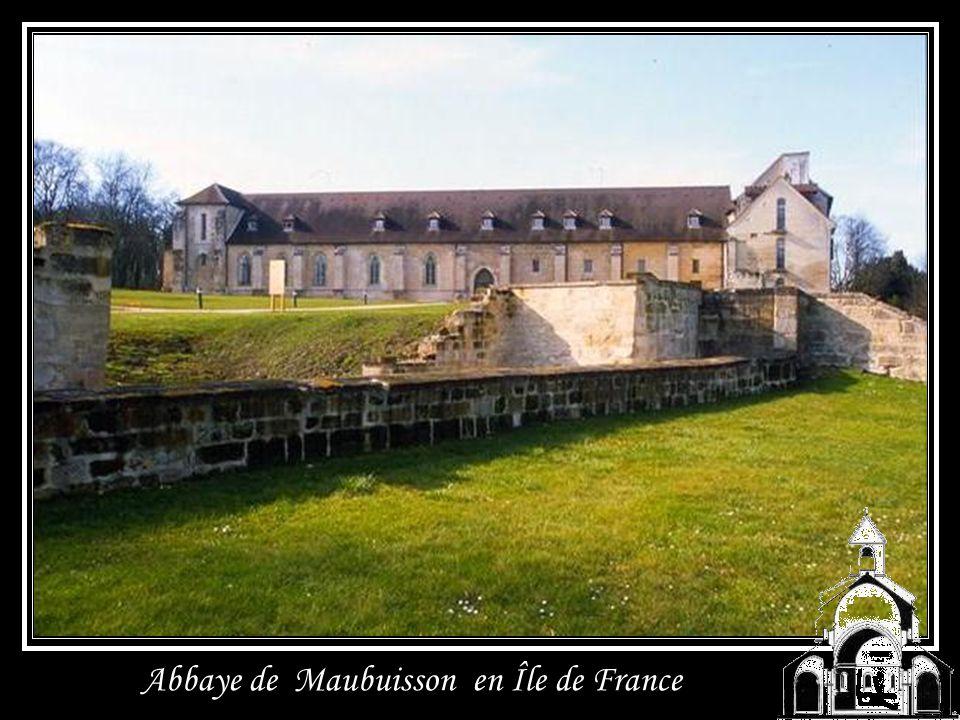 Abbaye de Maubuisson en Île de France