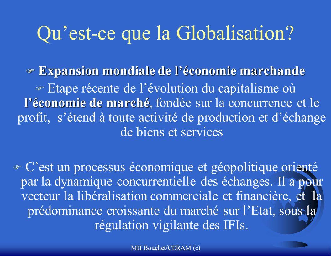Qu'est-ce que la Globalisation
