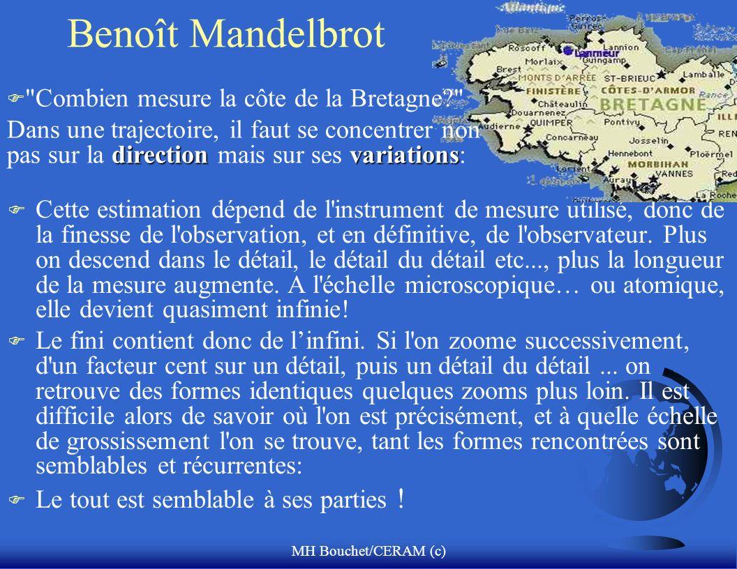Benoît Mandelbrot Combien mesure la côte de la Bretagne