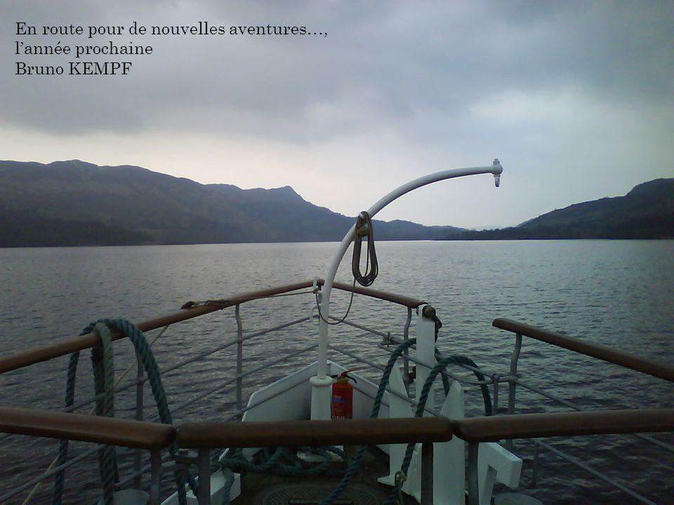 En route pour de nouvelles aventures…, l'année prochaine
