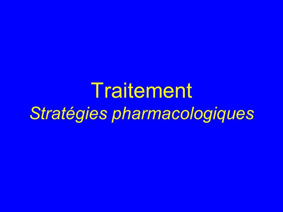 Traitement Stratégies pharmacologiques