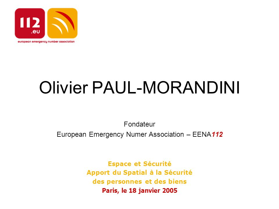 Olivier PAUL-MORANDINI