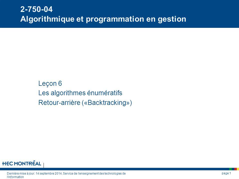2-750-04 Algorithmique et programmation en gestion