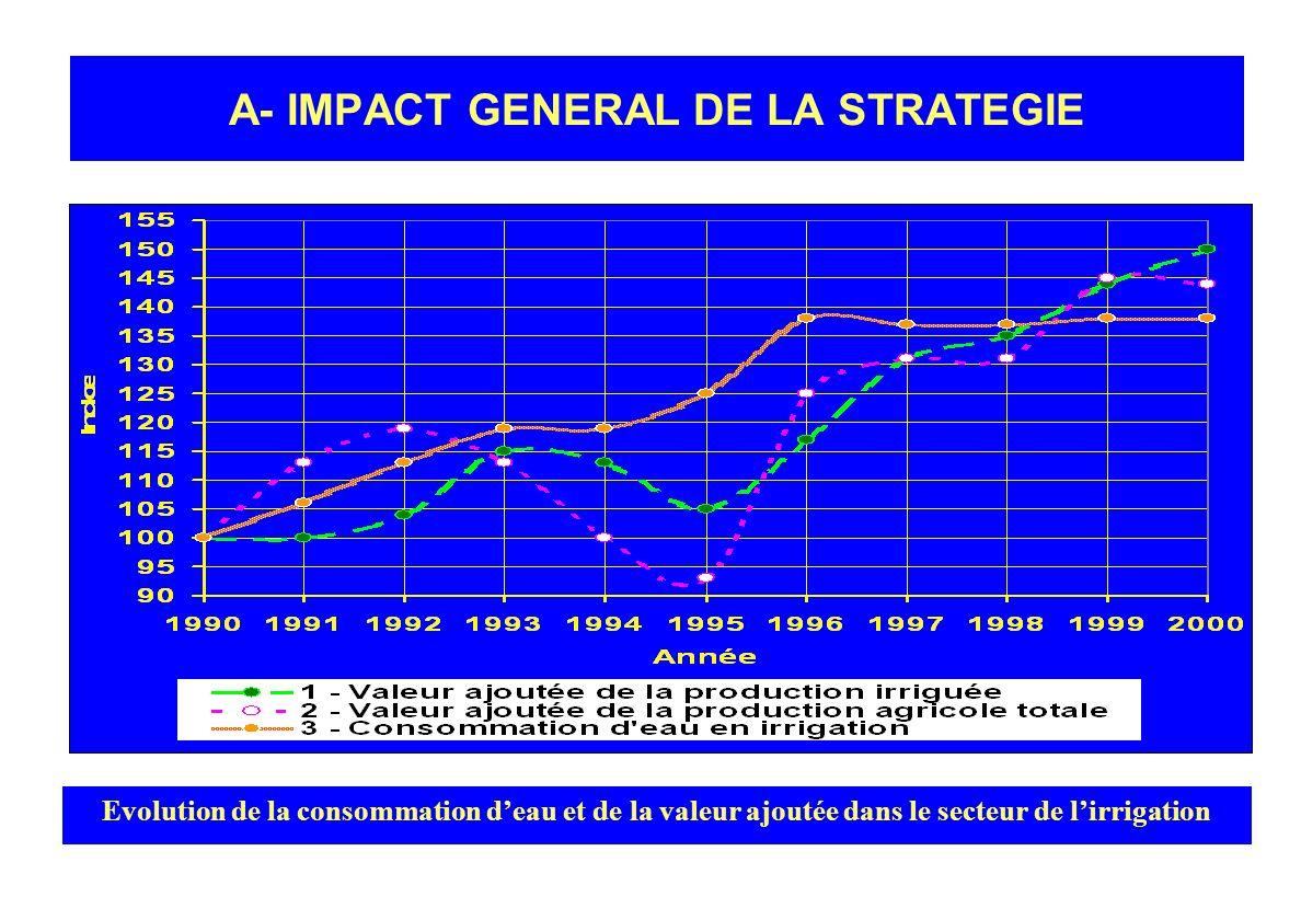 A- IMPACT GENERAL DE LA STRATEGIE
