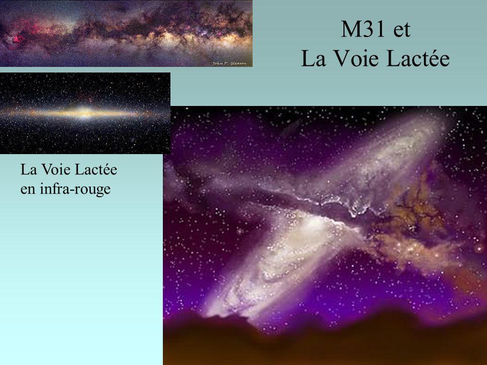 M31 et La Voie Lactée La Voie Lactée en infra-rouge