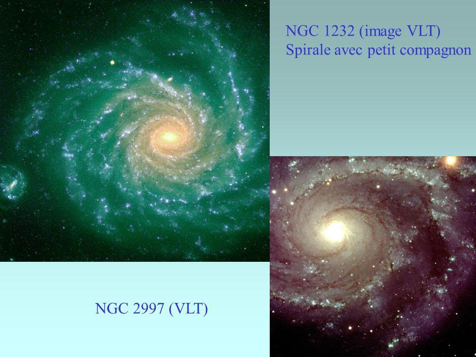 NGC 1232 (image VLT) Spirale avec petit compagnon NGC 2997 (VLT)