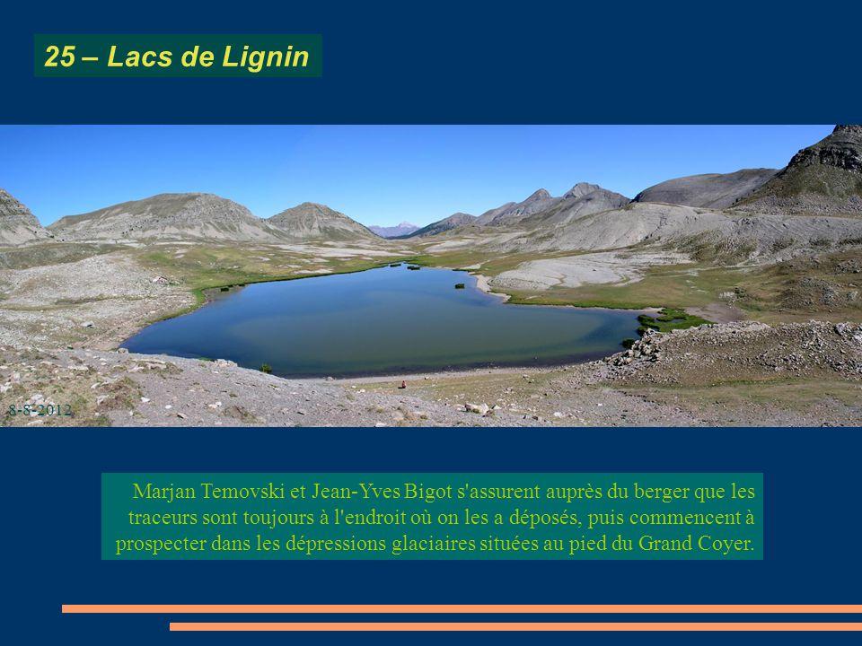 25 – Lacs de Lignin 8-8-2012.
