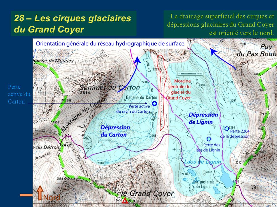28 – Les cirques glaciaires du Grand Coyer