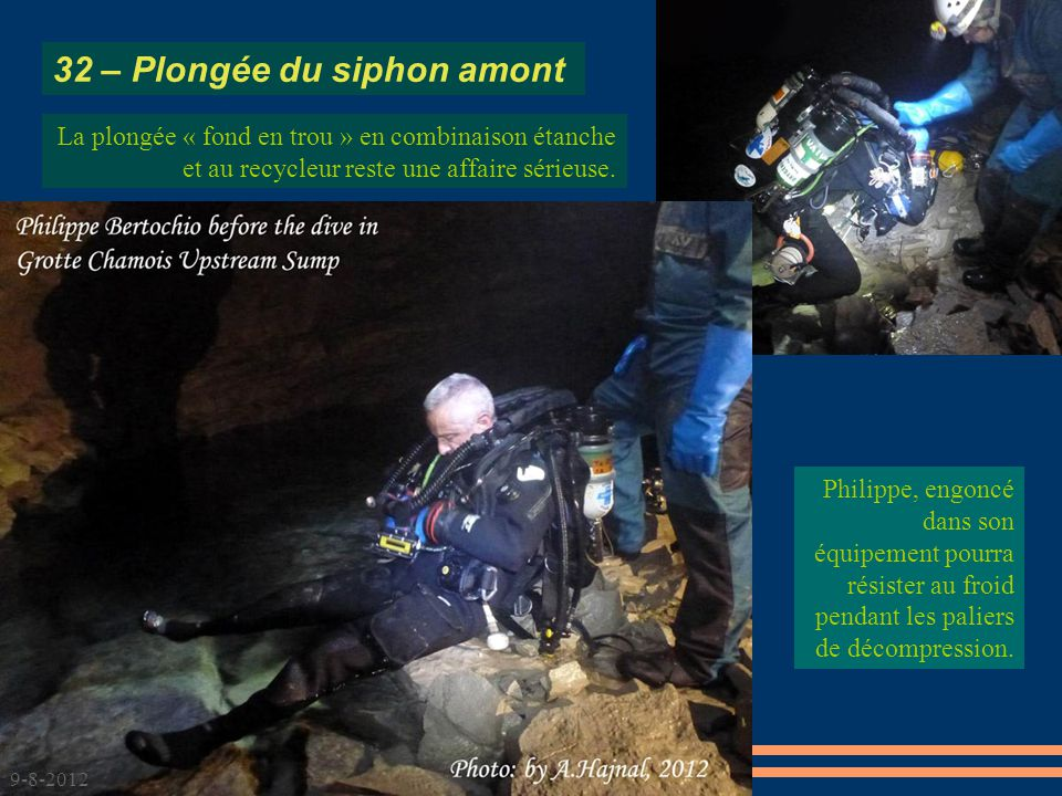 32 – Plongée du siphon amont