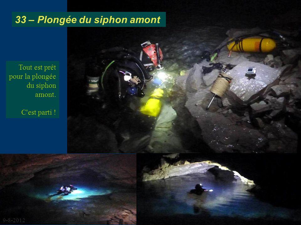 33 – Plongée du siphon amont