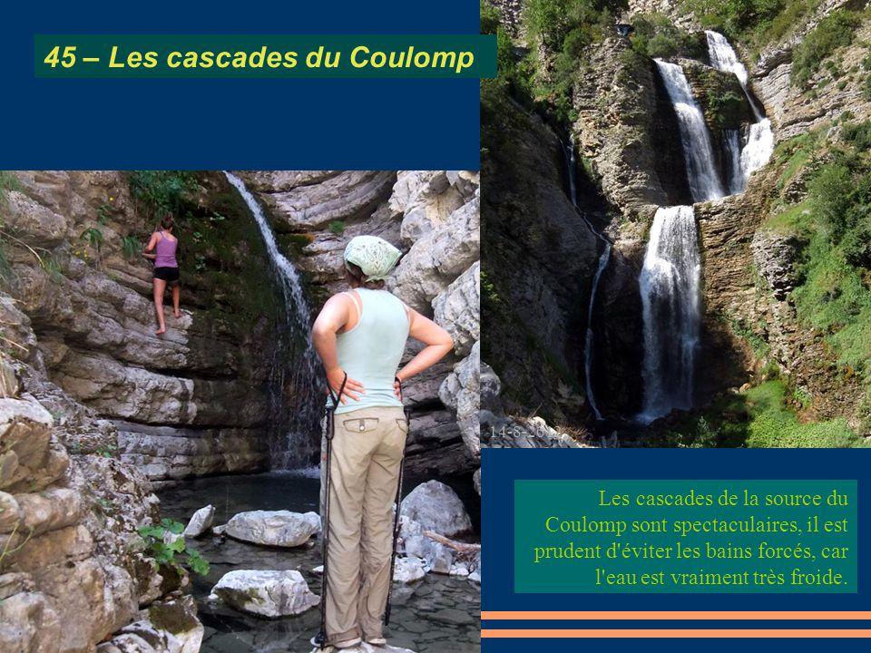 45 – Les cascades du Coulomp