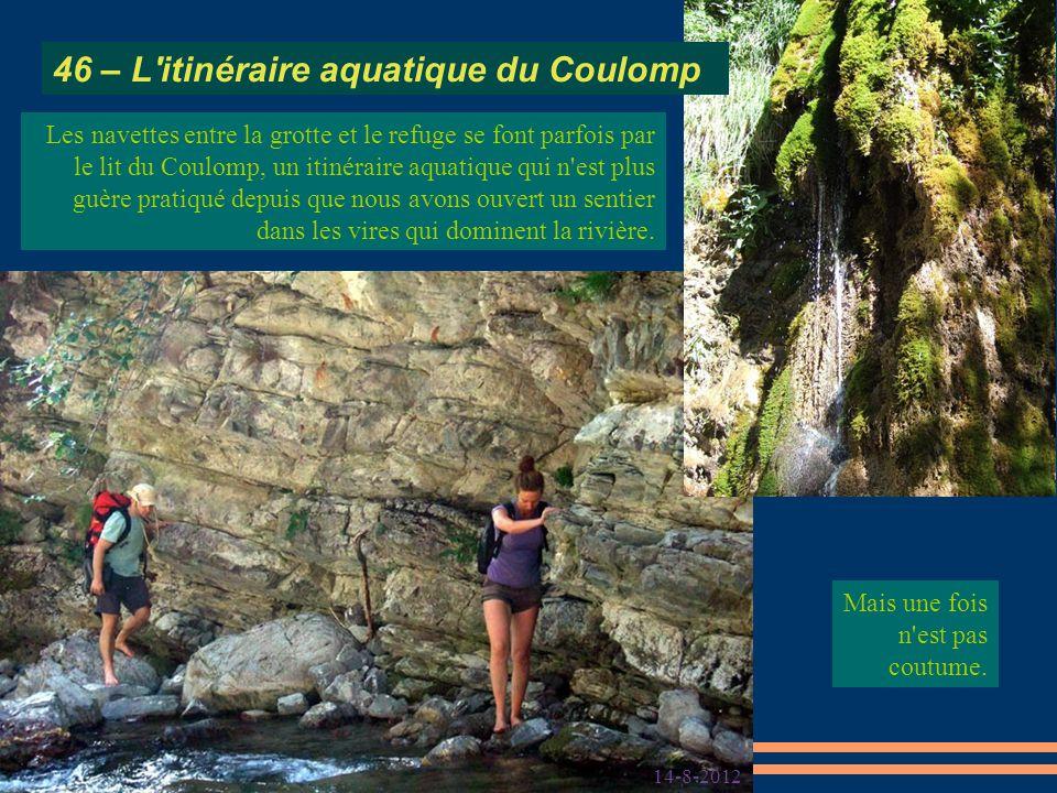 46 – L itinéraire aquatique du Coulomp
