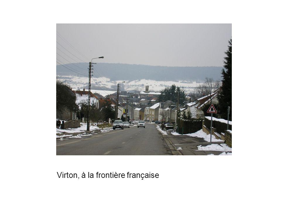 Virton, à la frontière française