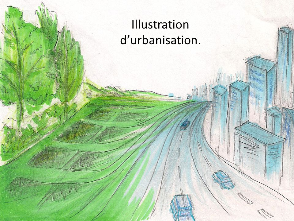 Illustration d'urbanisation.