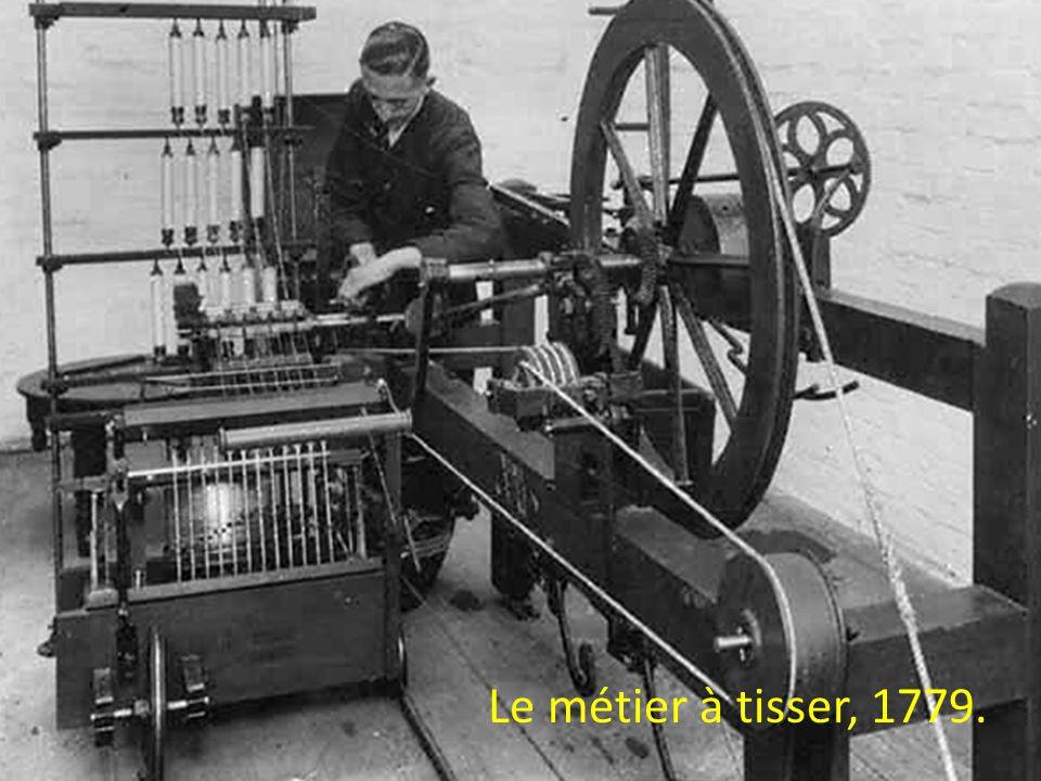 Le métier à tisser, 1779.
