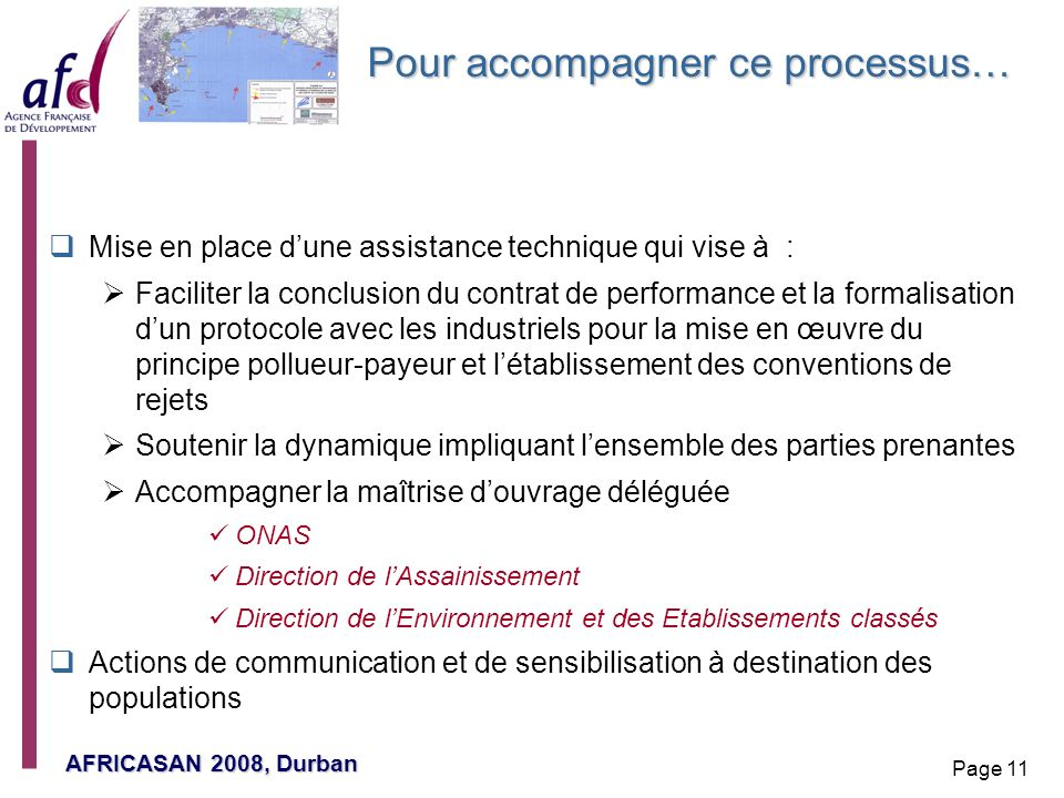 Pour accompagner ce processus…