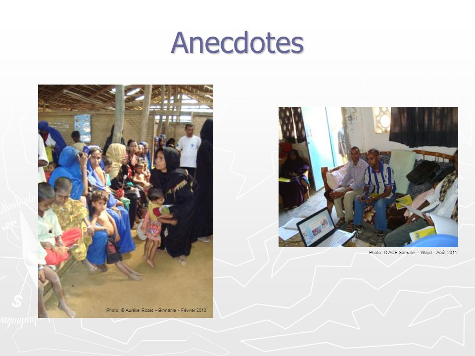 Anecdotes Photo: © ACF Somalie – Wajid - Août 2011