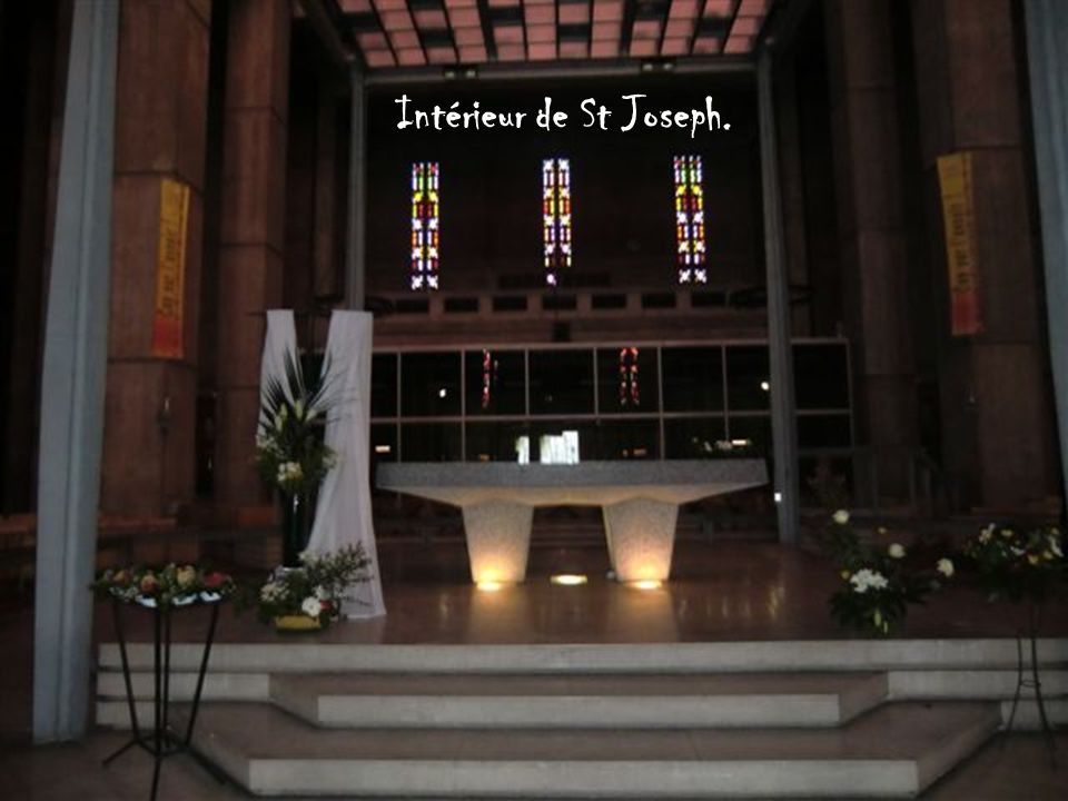Intérieur de St Joseph.